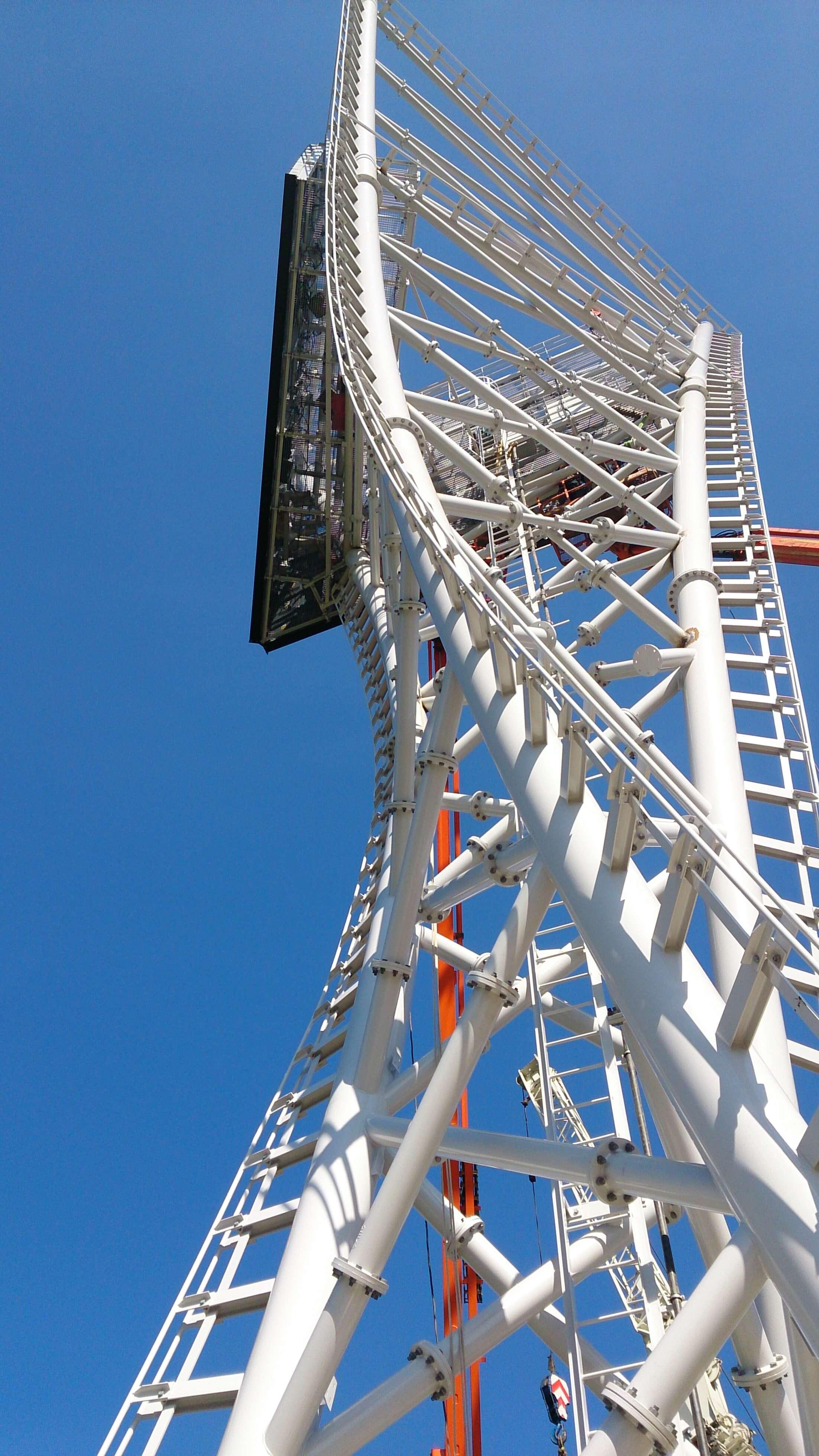 foto van Communicatie / reclame mast Nabij A2 afslag Geleen