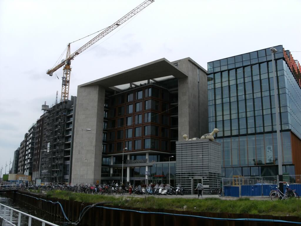 foto van Bibliotheek Amsterdam